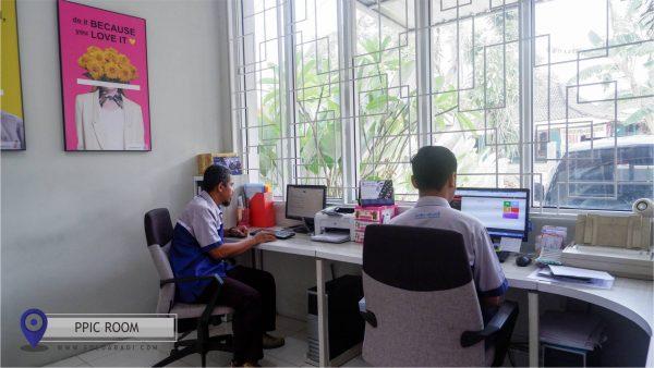 PPIC Room Solo Abadi untuk membuat jadwal produksi
