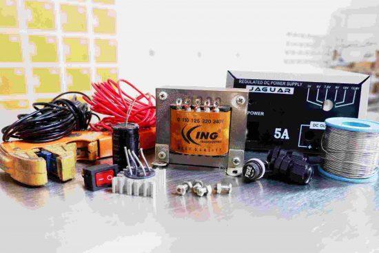 komponen elektronika yang ergonomis