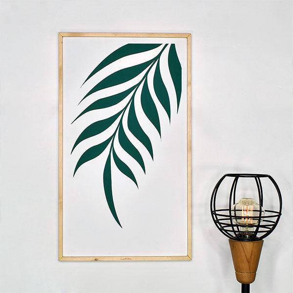 produk malika kaligrafi leaf