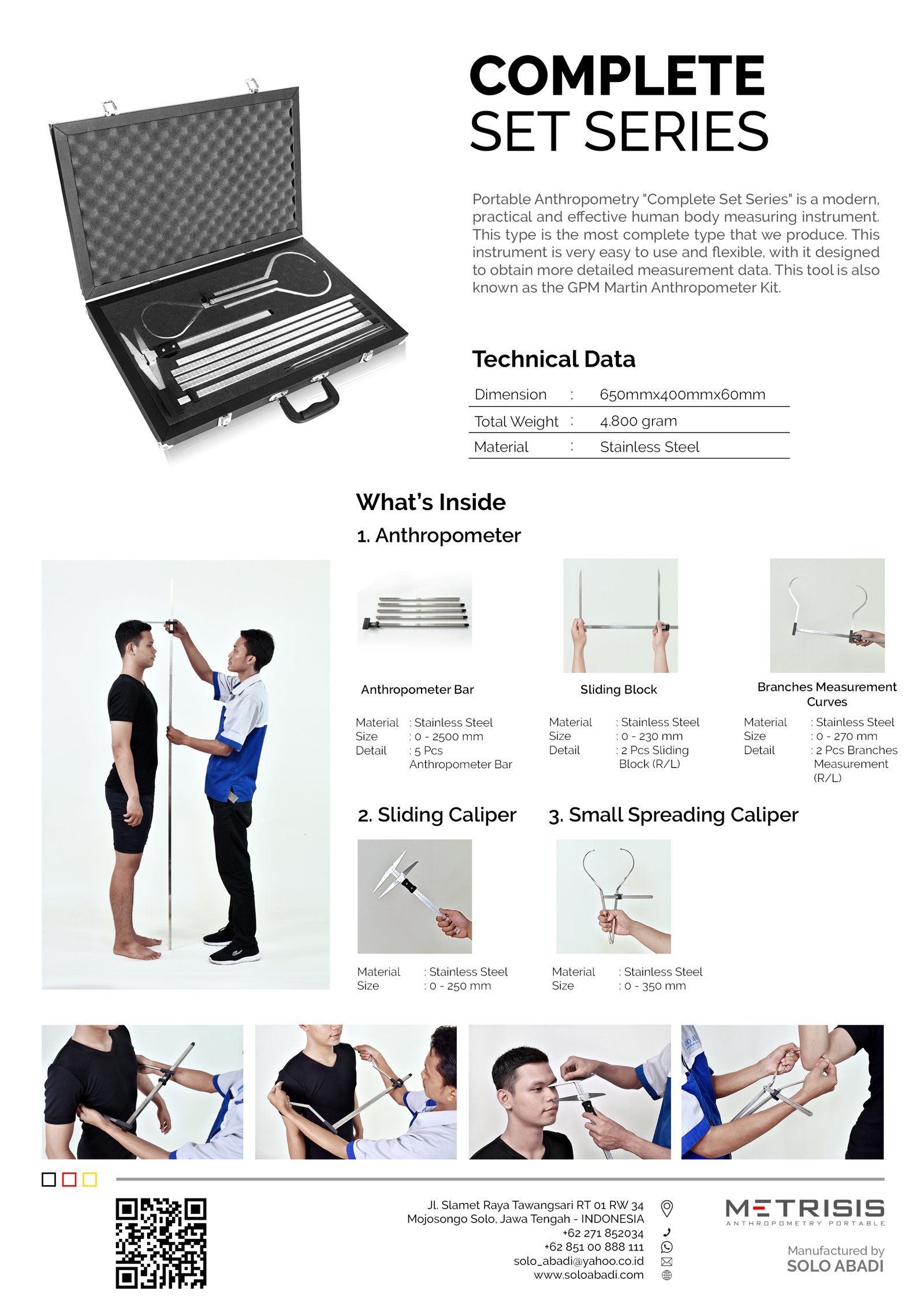 Brosure Portable Anthropometry Complete Set Series