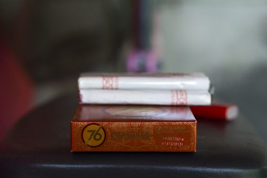 Production codes or dater codes on cigarette