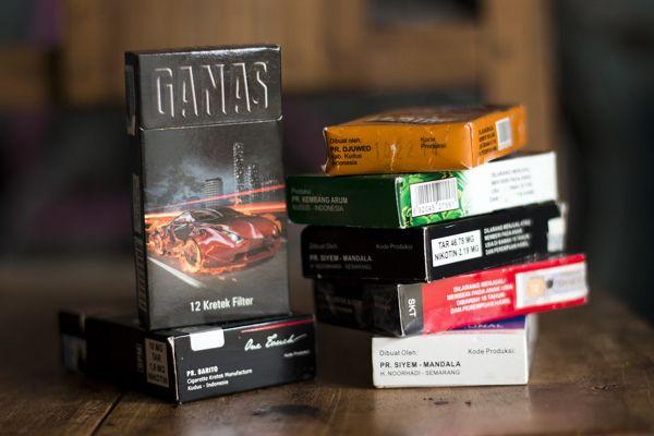 Kode produksi pada bungkus rokok