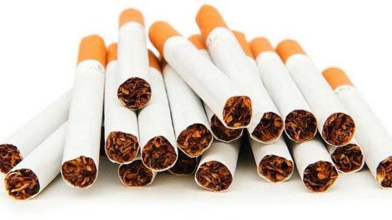 Various Diameters and Lengths of Cigarettes Sticks