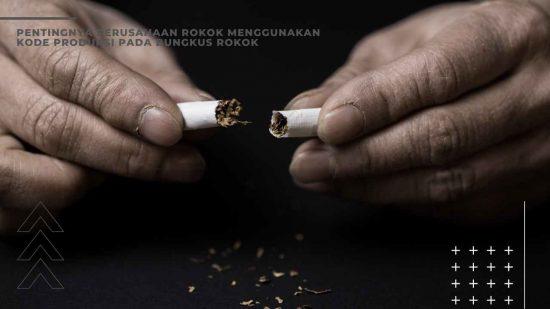 kode produksi rokok